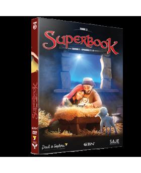 Superbook Tome 1 saison 1 (épisode 1 à 3)