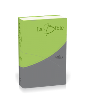 Bible Segond 21 gros caractères souple duo
