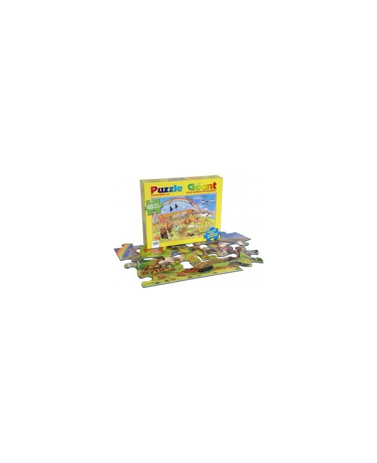 Puzzle en bois Arche de Noé (48pièces)37x27cm