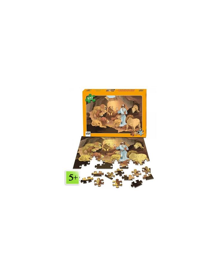 Puzzle Daniel dans la fosse aux lions (100 pièces)