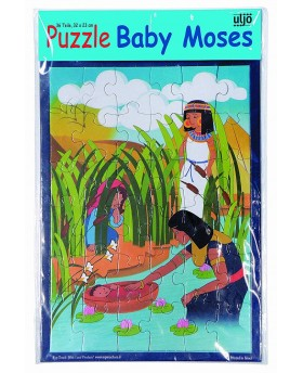 Puzzle Baby Moses