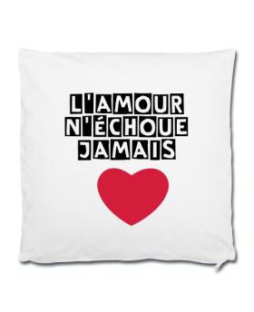"Taie d'oreiller ""L'amour..."