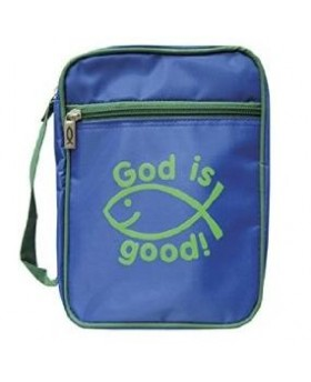 Pochette Bible bleu God is...
