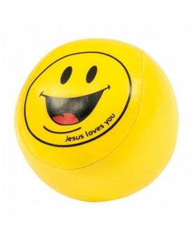"Balle souple smiley ""Jesus..."